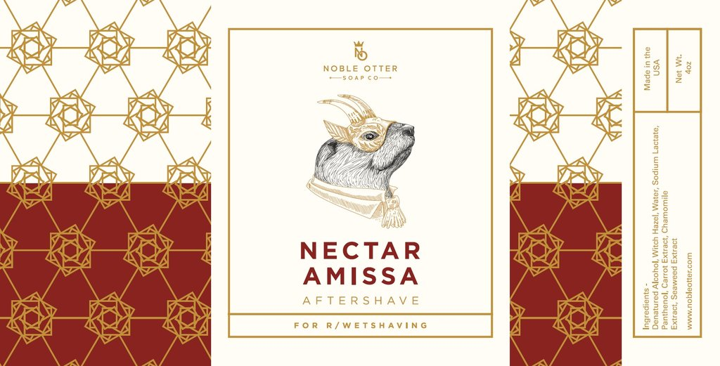 Noble Otter - Nectar Amissa - Aftershave image