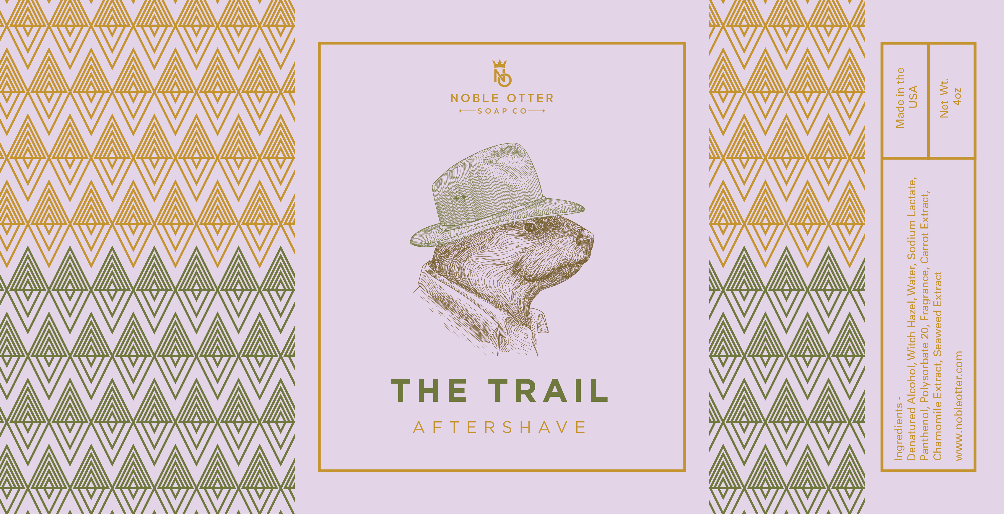 Noble Otter - The Trail - Aftershave image