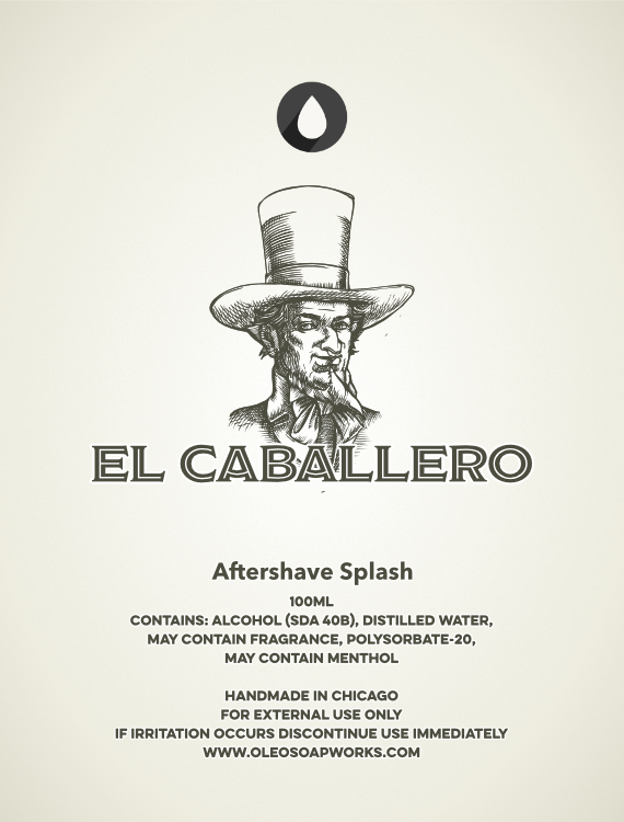 Chicago Grooming Co. (Formerly Oleo Soapworks) - El Caballero - Aftershave image
