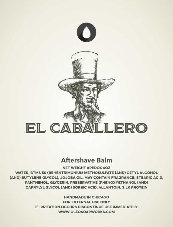 Chicago Grooming Co. (Formerly Oleo Soapworks) - El Caballero - Balm image