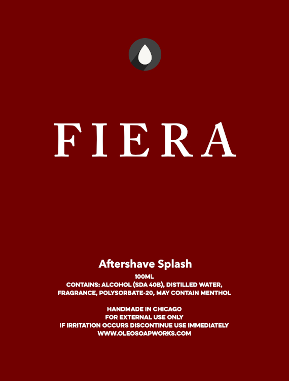 Oleo Soapworks - Fiera - Aftershave image