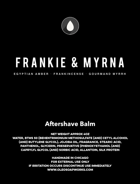 Chicago Grooming Co. (Formerly Oleo Soapworks) - Frankie & Myrna - Balm image