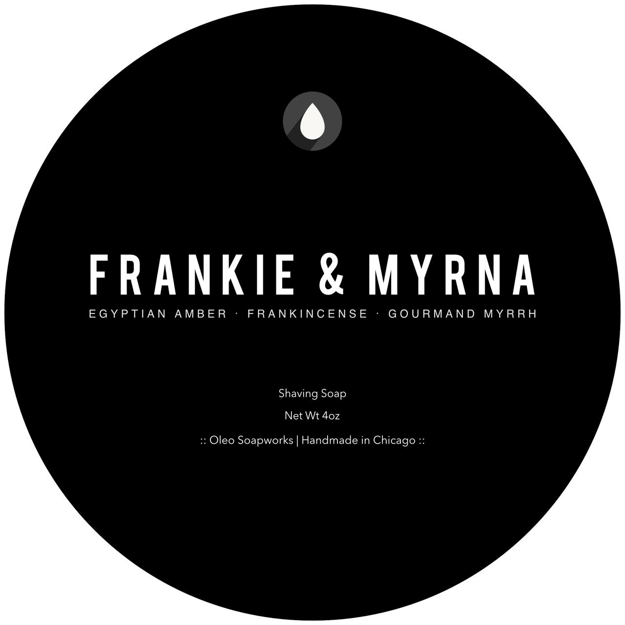 Oleo Soapworks - Frankie & Myrna - Soap image