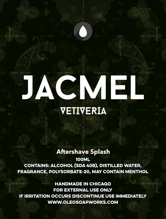 Chicago Grooming Co. (Formerly Oleo Soapworks) - Jacmel Vetiveria - Aftershave image