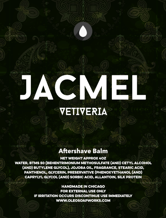Chicago Grooming Co. (Formerly Oleo Soapworks) - Jacmel Vetiveria - Balm image