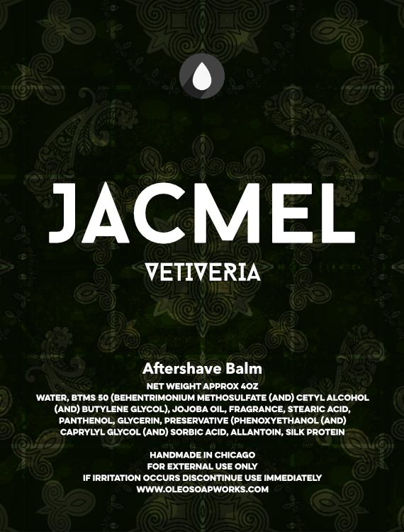 Oleo Soapworks - Jacmel Vetiveria - Balm image