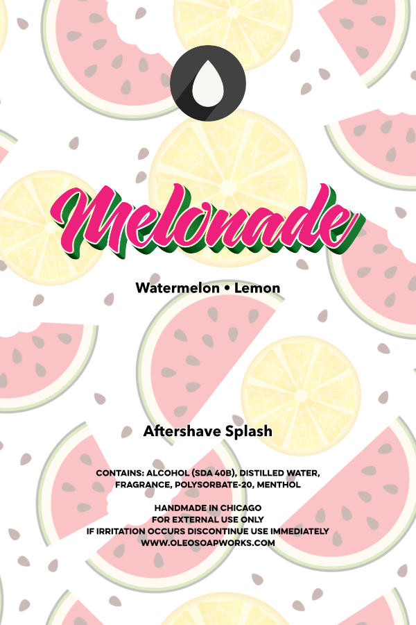 Chicago Grooming Co. (Formerly Oleo Soapworks) - Melonade - Aftershave image