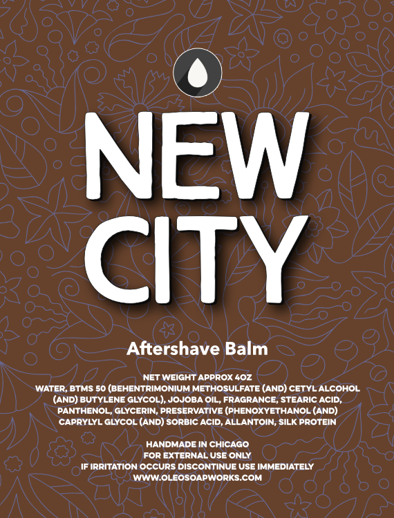 Oleo Soapworks - New City: Back of the Yards - Balm image