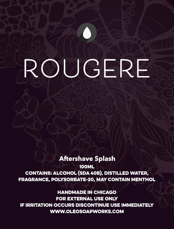 Chicago Grooming Co. (Formerly Oleo Soapworks) - Rougére - Aftershave image