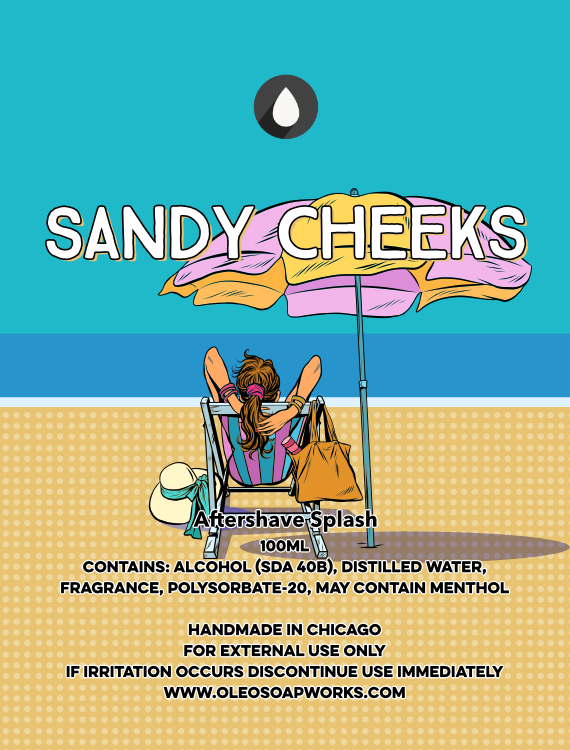 Chicago Grooming Co. (Formerly Oleo Soapworks) - Sandy Cheeks - Aftershave image