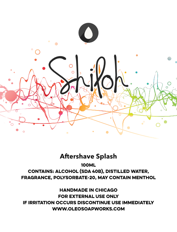 Chicago Grooming Co. (Formerly Oleo Soapworks) - Shiloh - Aftershave image