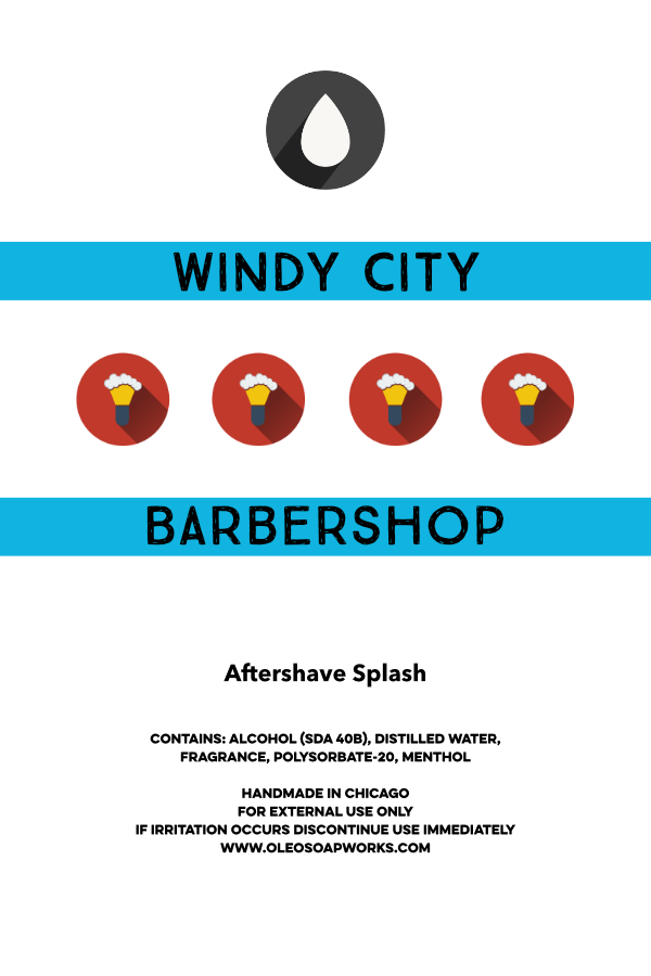 Chicago Grooming Co. (Formerly Oleo Soapworks) - Windy City Barbershop - Aftershave image