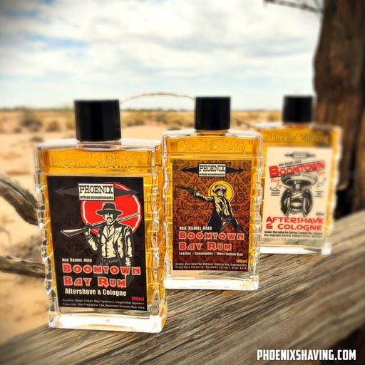 Phoenix Artisan Accoutrements - Boomtown Bay Rum - Aftershave image