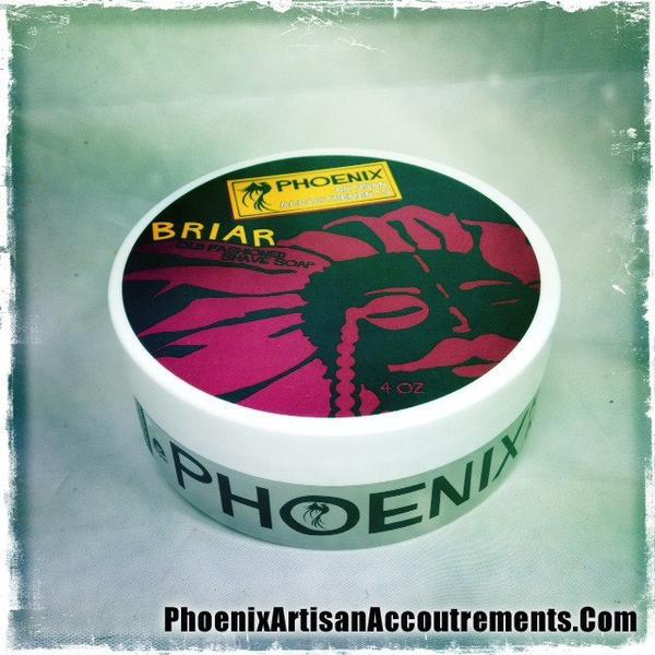 Phoenix Artisan Accoutrements - Briar Old Fashioned - Soap image