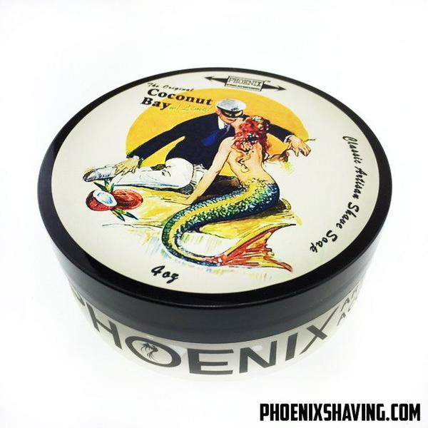 Phoenix Artisan Accoutrements - Coconut Bay with Lime - Soap image