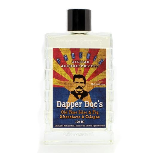 Phoenix Artisan Accoutrements - Dapper Doc's Lilac & Fig - Aftershave image
