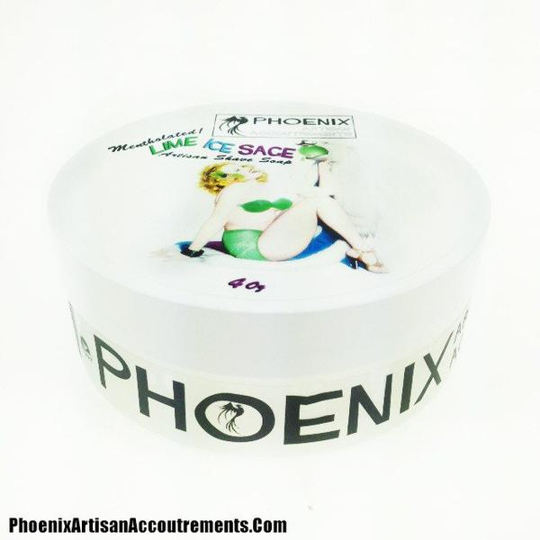 Phoenix Artisan Accoutrements - Lime Ice Sage - Soap image
