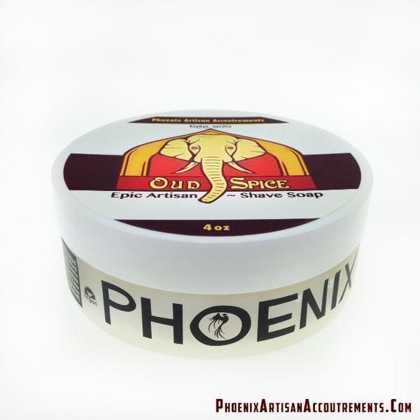 Phoenix Artisan Accoutrements - Oud Spice - Soap image