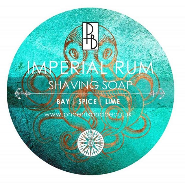 Phoenix & Beau - Imperial Rum - Soap image