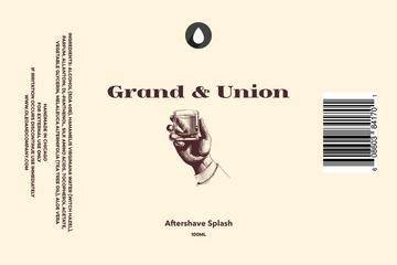 Oleo Soapworks - Grand & Union - Aftershave image