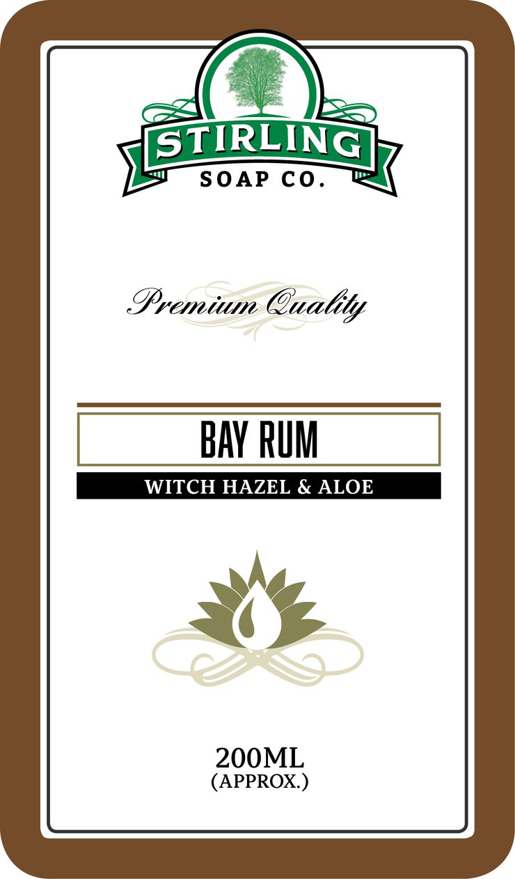 Stirling Soap Co. - Bay Rum - Aftershave (Alcohol Free) image