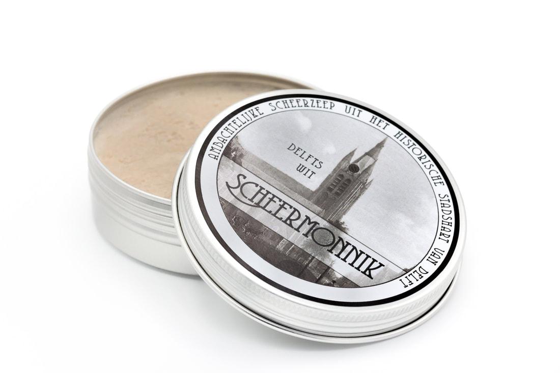 Scheermonnik - Delfts Wit - Soap image