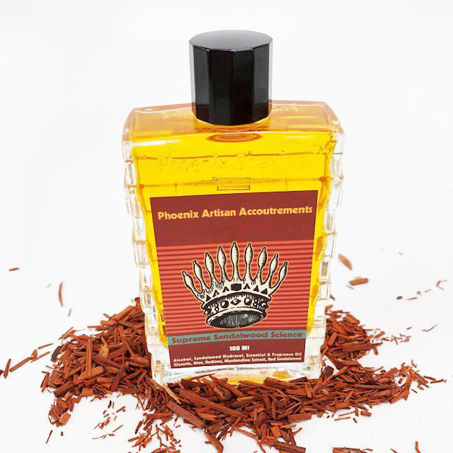 Phoenix Artisan Accoutrements - Supreme Sandalwood Science - Aftershave image