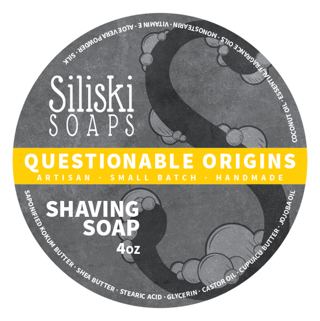Siliski Soaps - Questionable Origins - Soap image