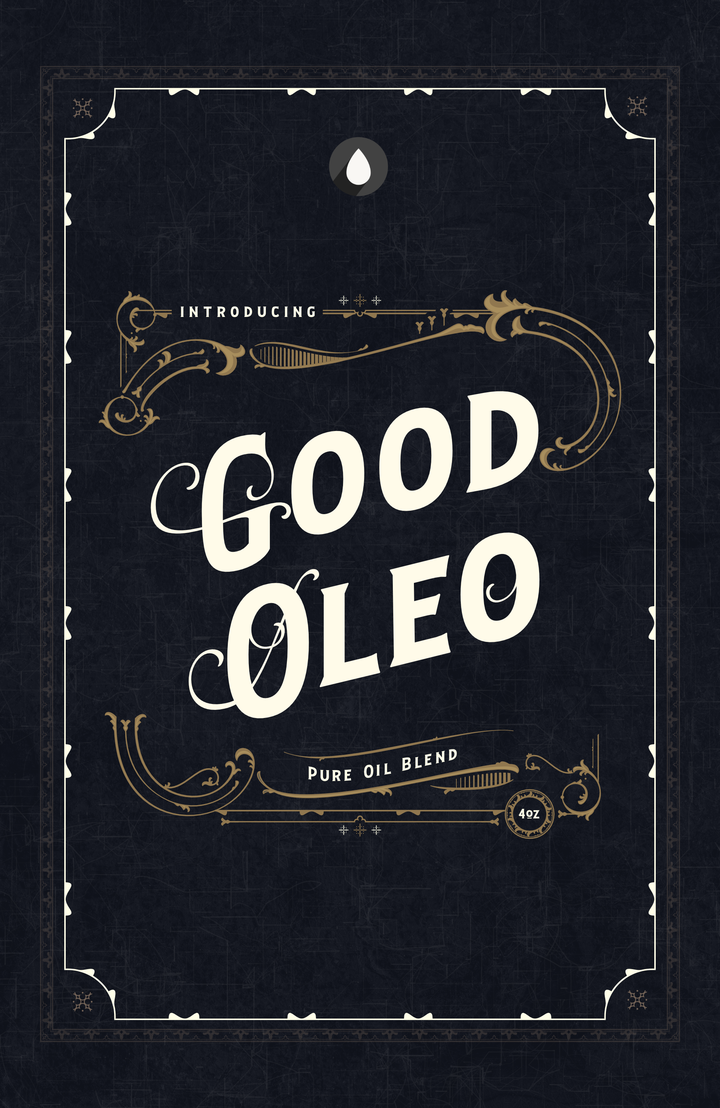 Chicago Grooming Co. (Formerly Oleo Soapworks) - Good Oleo Pure Oil Blend - Post Shave Oil image