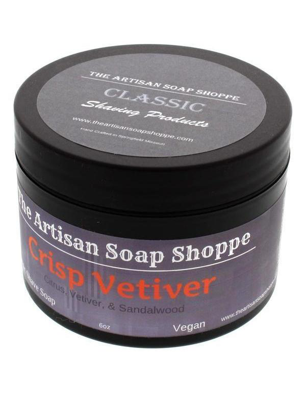 The Artisan Shave Shoppe - Crisp Vetiver - Soap image