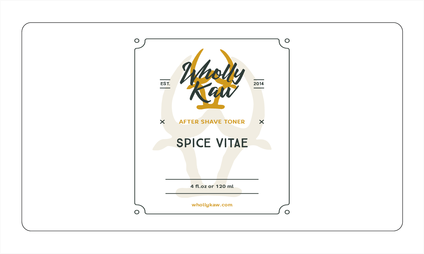 Wholly Kaw - Spice Vitae - Toner image