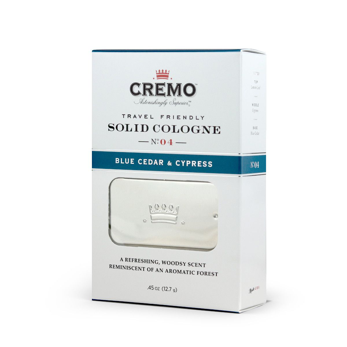 Cremo - Blue Cedar & Cypress - Solid Cologne image