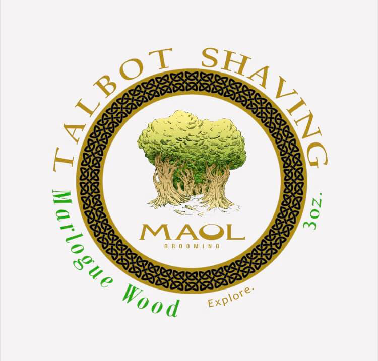 Maol Grooming/Talbot Shaving - Marlogue Wood - Soap image