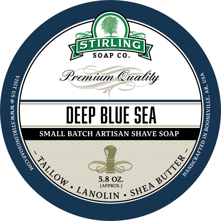 Stirling Soap Co. - Deep Blue Sea - Soap image