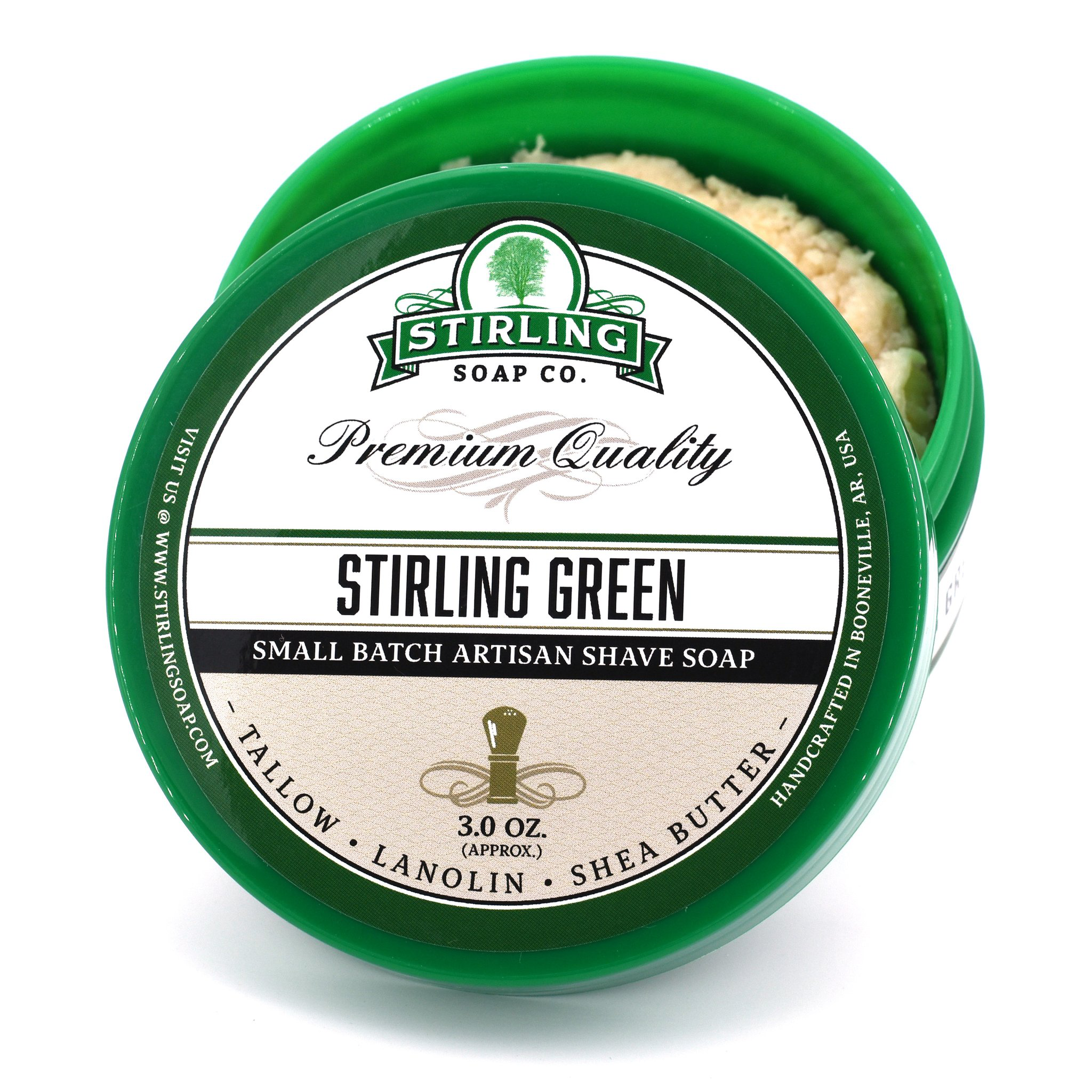 Stirling Soap Co. - Stirling Green - Soap image