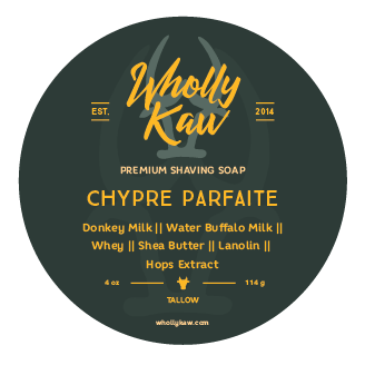 Wholly Kaw - Chypre Parfaite - Soap image
