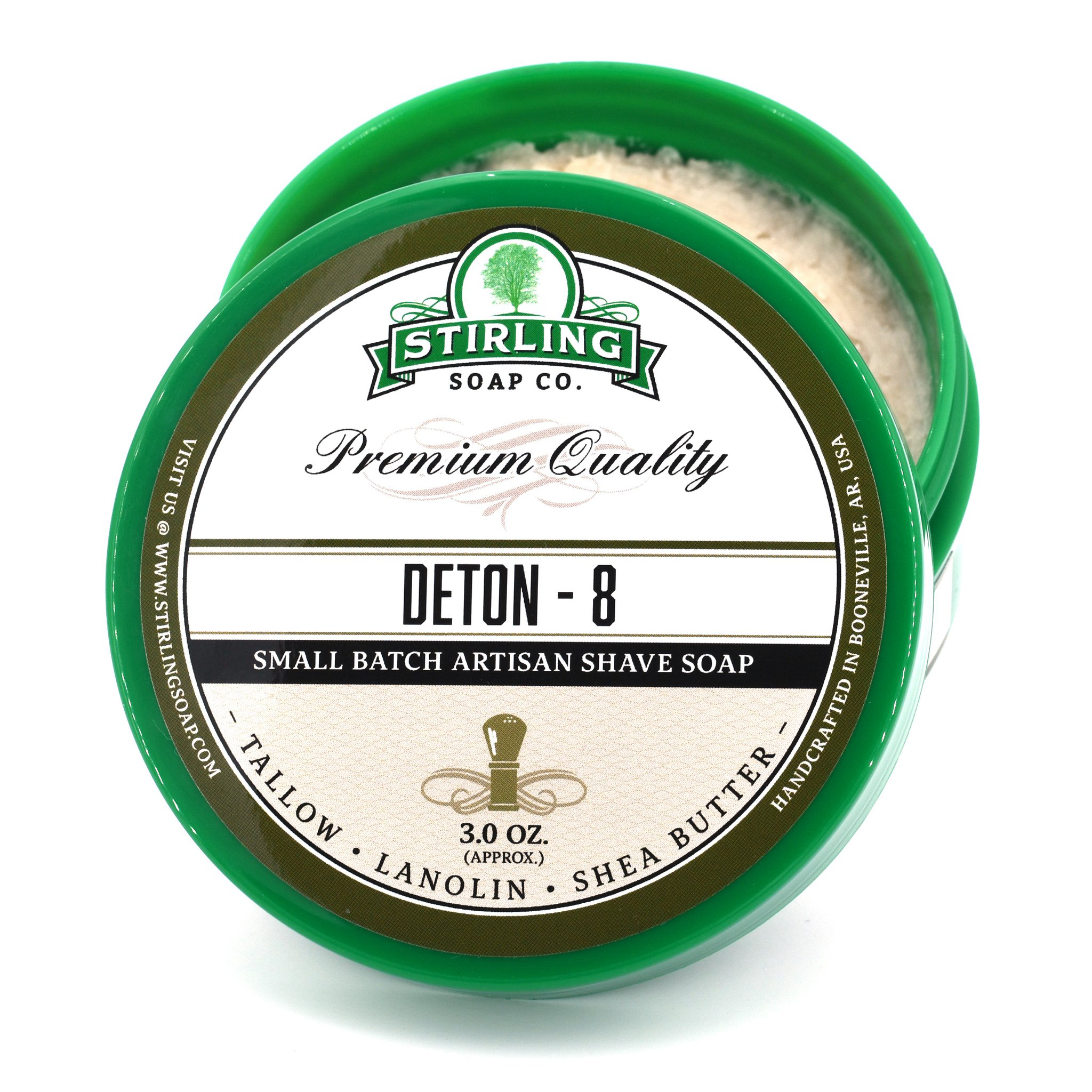 Stirling Soap Co. - Deton-8 - Soap image