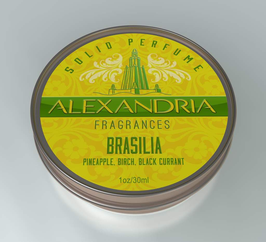 Alexandria Fragrances - Brasilia - Solid Fragrance image