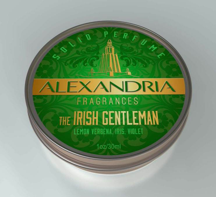 Alexandria Fragrances - The Irish Gentleman - Solid Fragrance image