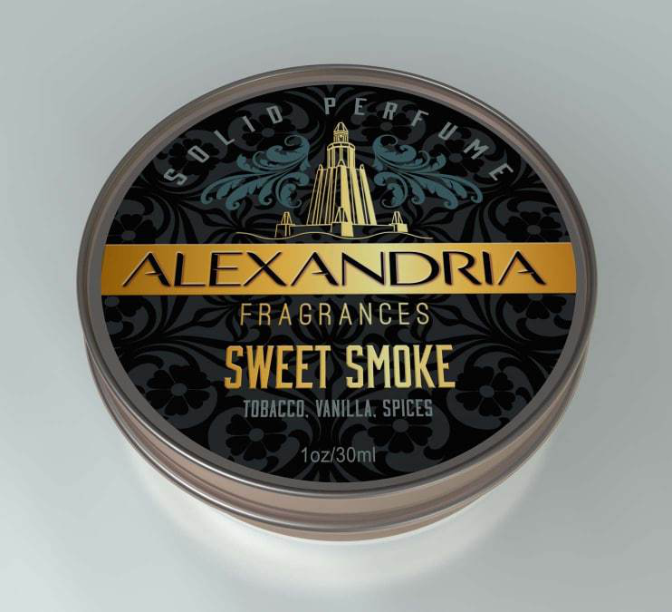 Alexandria Fragrances - Sweet Smoke - Solid Fragrance image