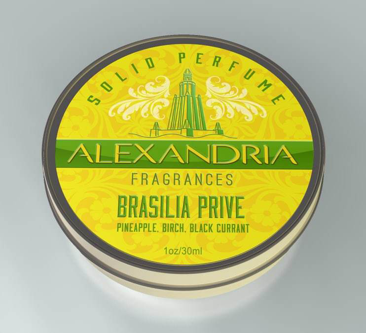 Alexandria Fragrances - Brasilia Prive - Solid Fragrance image
