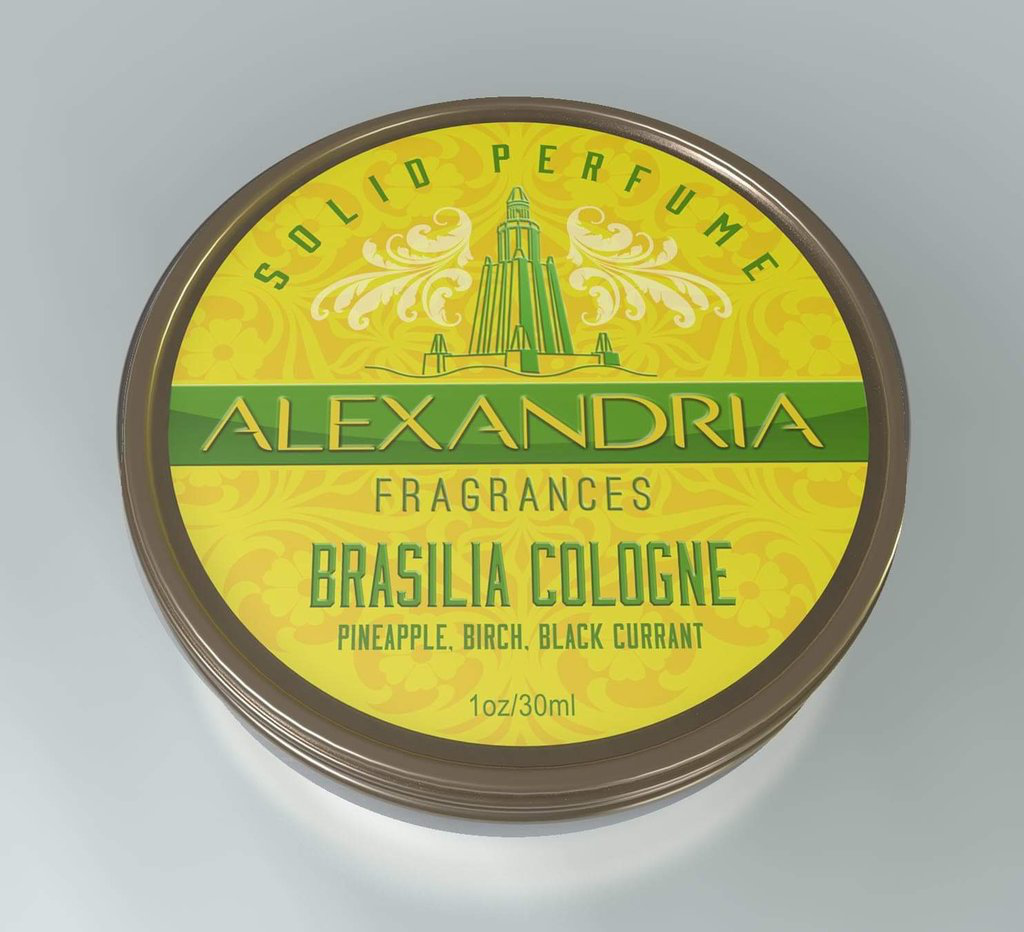 Alexandria Fragrances - Brasilia Cologne - Solid Fragrance image