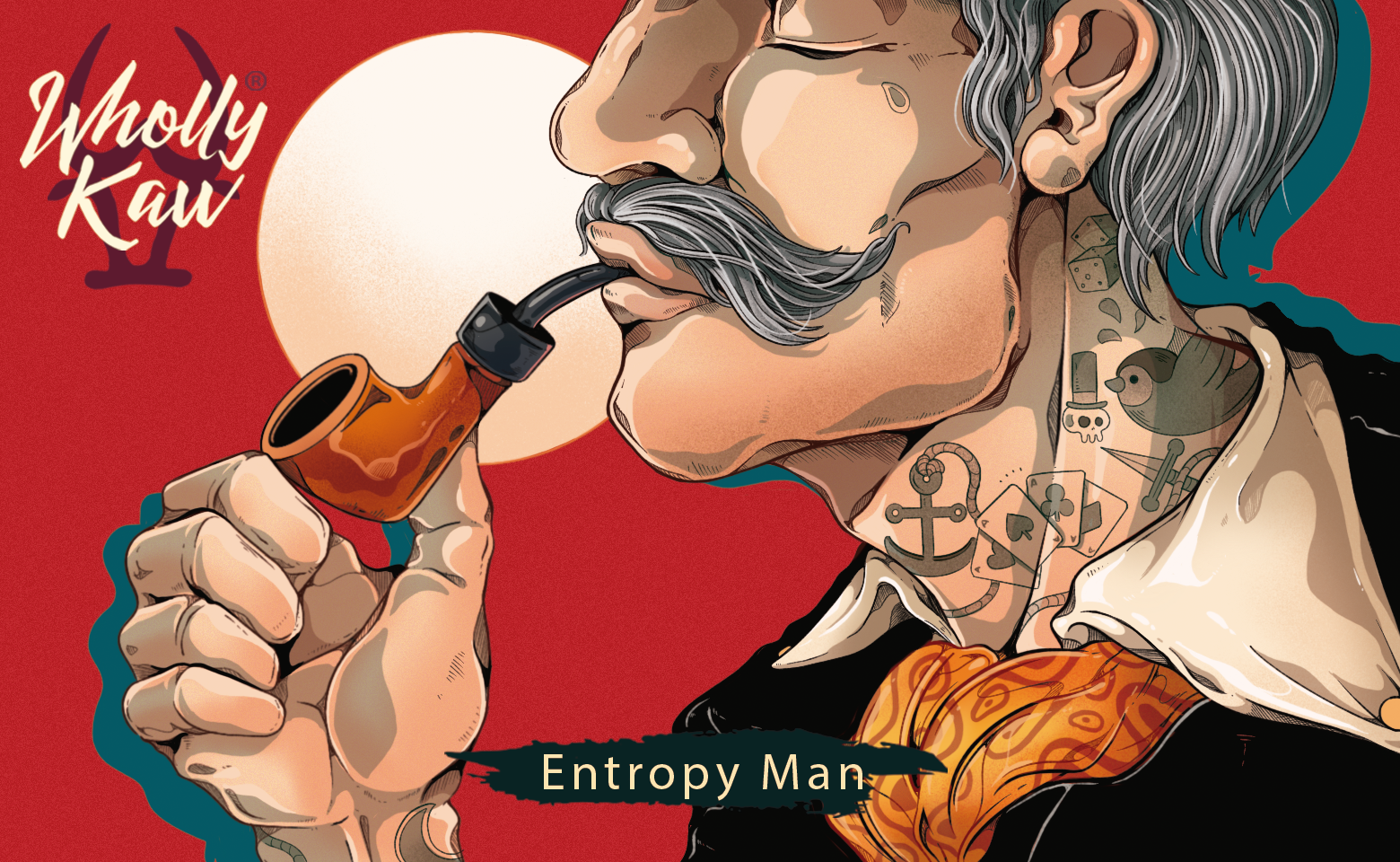 Wholly Kaw - Entropy Man - Aftershave image