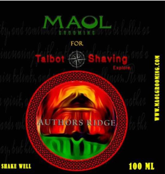 Talbot Shaving/Maol Grooming - Authors Ridge - Aftershave image