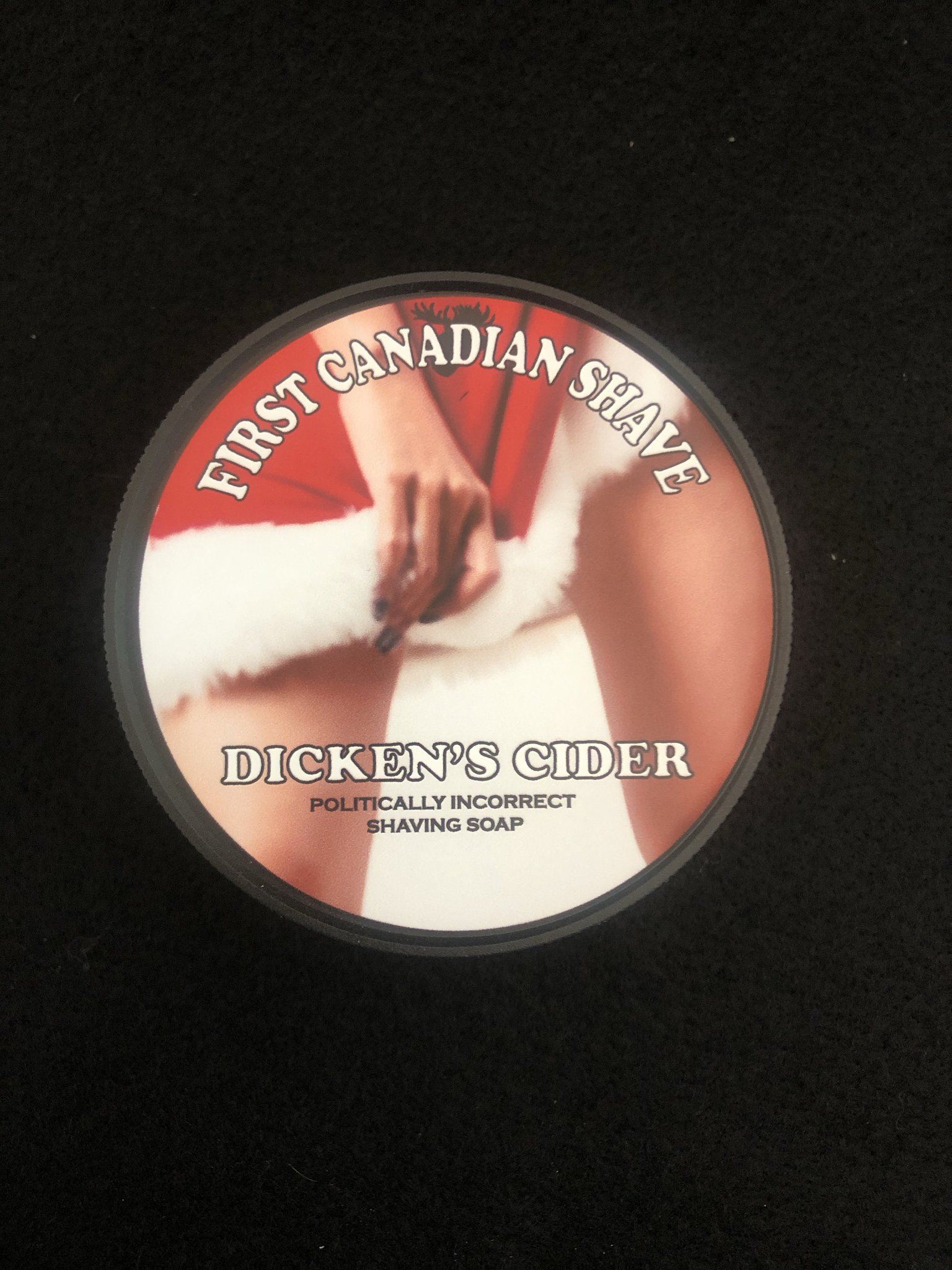First Canadian Shave - Dicken's Cider - Soap image