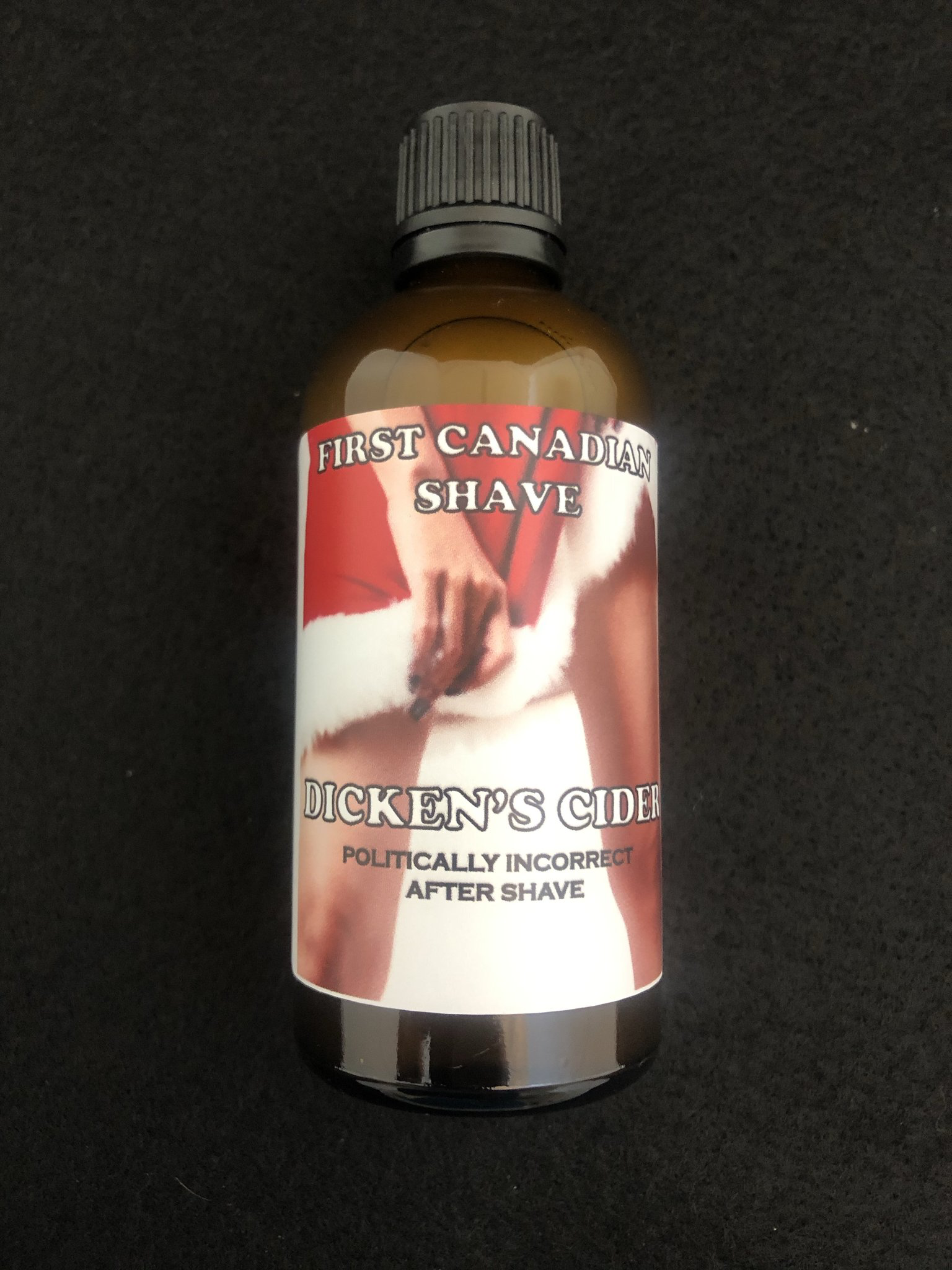 First Canadian Shave - Dicken's Cider - Aftershave image