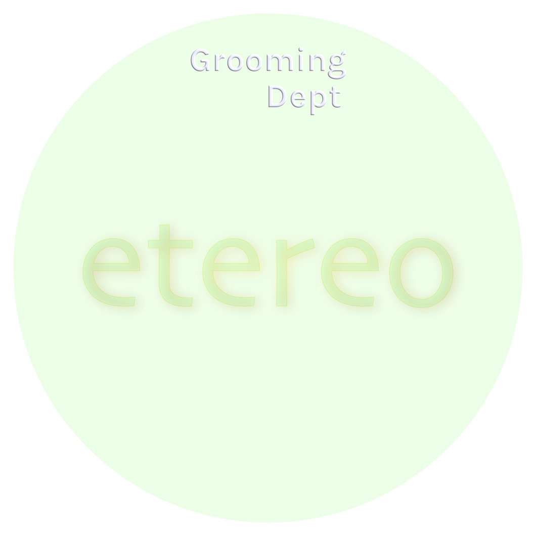 Grooming Dept - etereo - Soap image