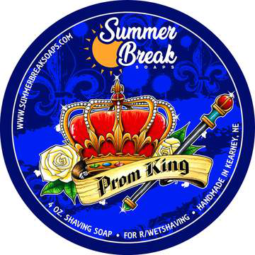 Summer Break Soaps - Prom King - Soap image