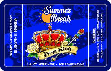 Summer Break Soaps - Prom King - Aftershave image