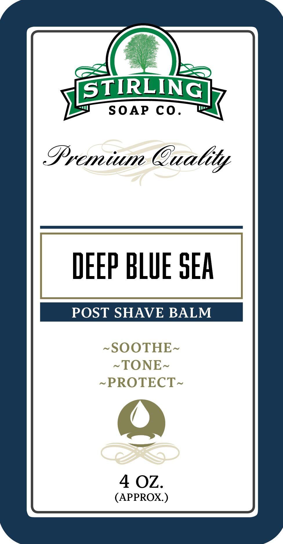 Stirling Soap Co. - Deep Blue Sea - Balm image